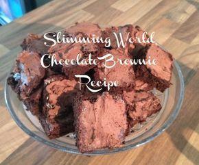 Slimming World Chocolate Brownie
