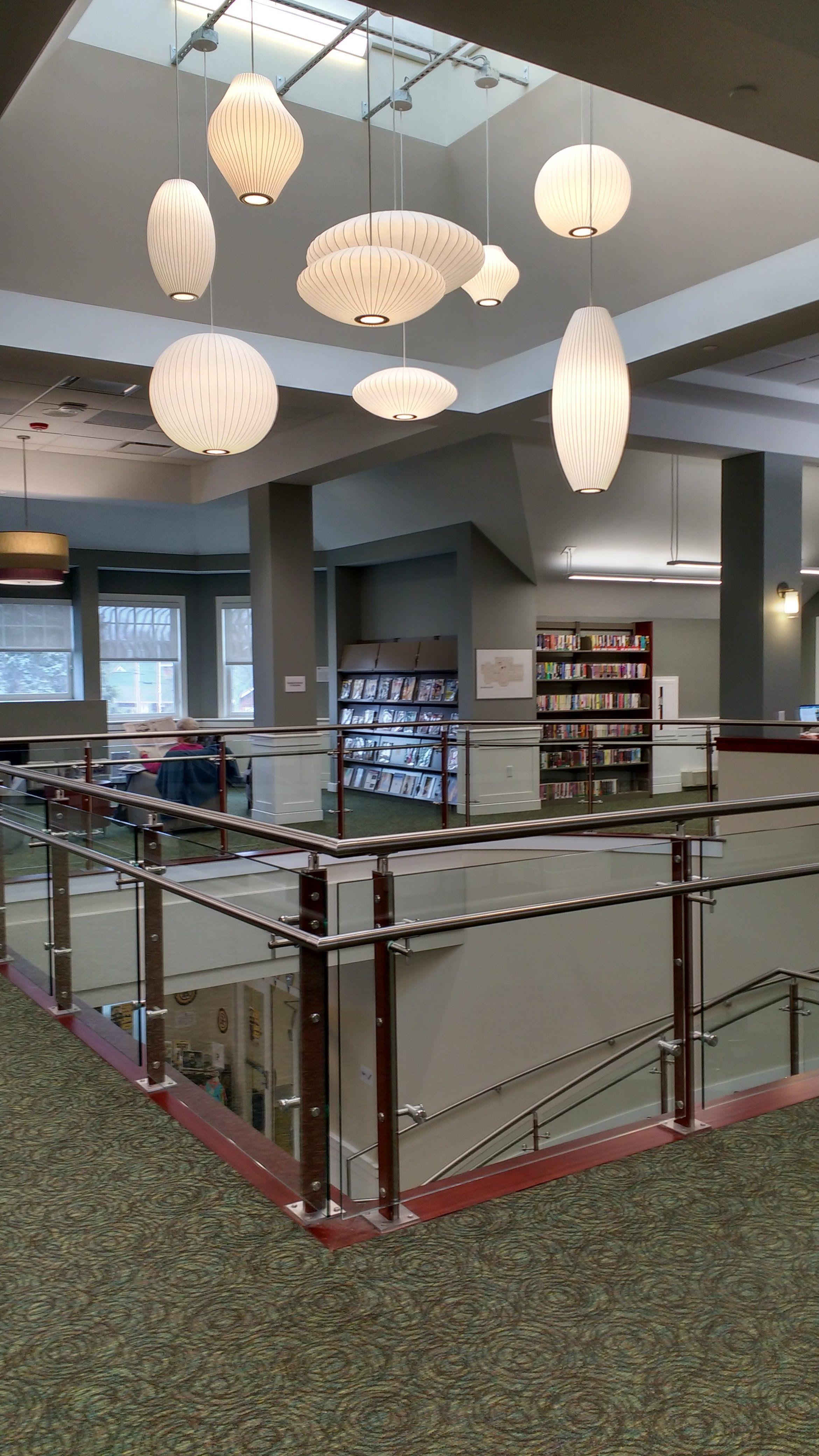 Salisbury Ma Public Library Feature Lighting Fixture