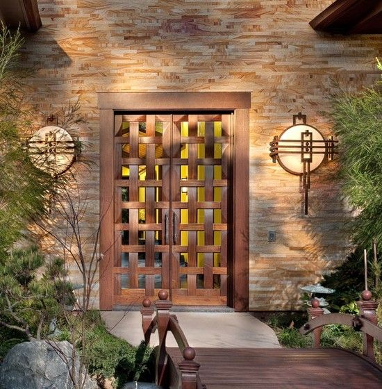 asian door design, pictures, remodel, decor and ideas - page 3