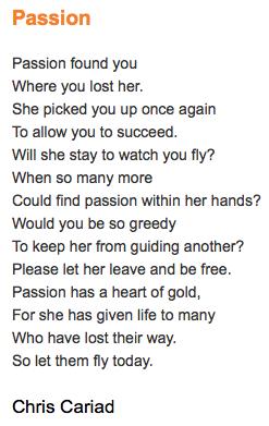 Passion Poem Poetry Passion Poems Passion Poems