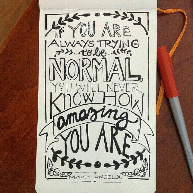 #student art - wonderful #quote!