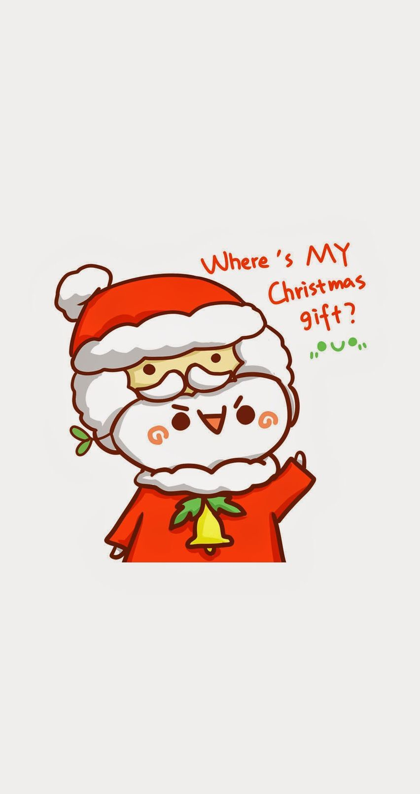 Tap image for more Christmas iPhone 6 Wallpapers! where's my christmas gift? - mobile9