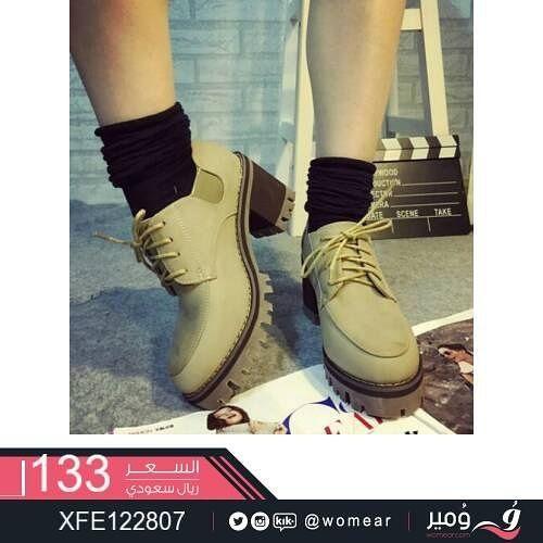 احذية عصرية كعب عالي حذاء بناتي مودرن ستايل كاجوال شوز دوام شوزات جزمه صبايا جزمات Timberland Boots Boots Fashion