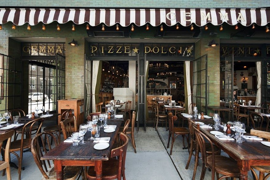 Gemma The Bowery Outdoor Seating New York City Nyc