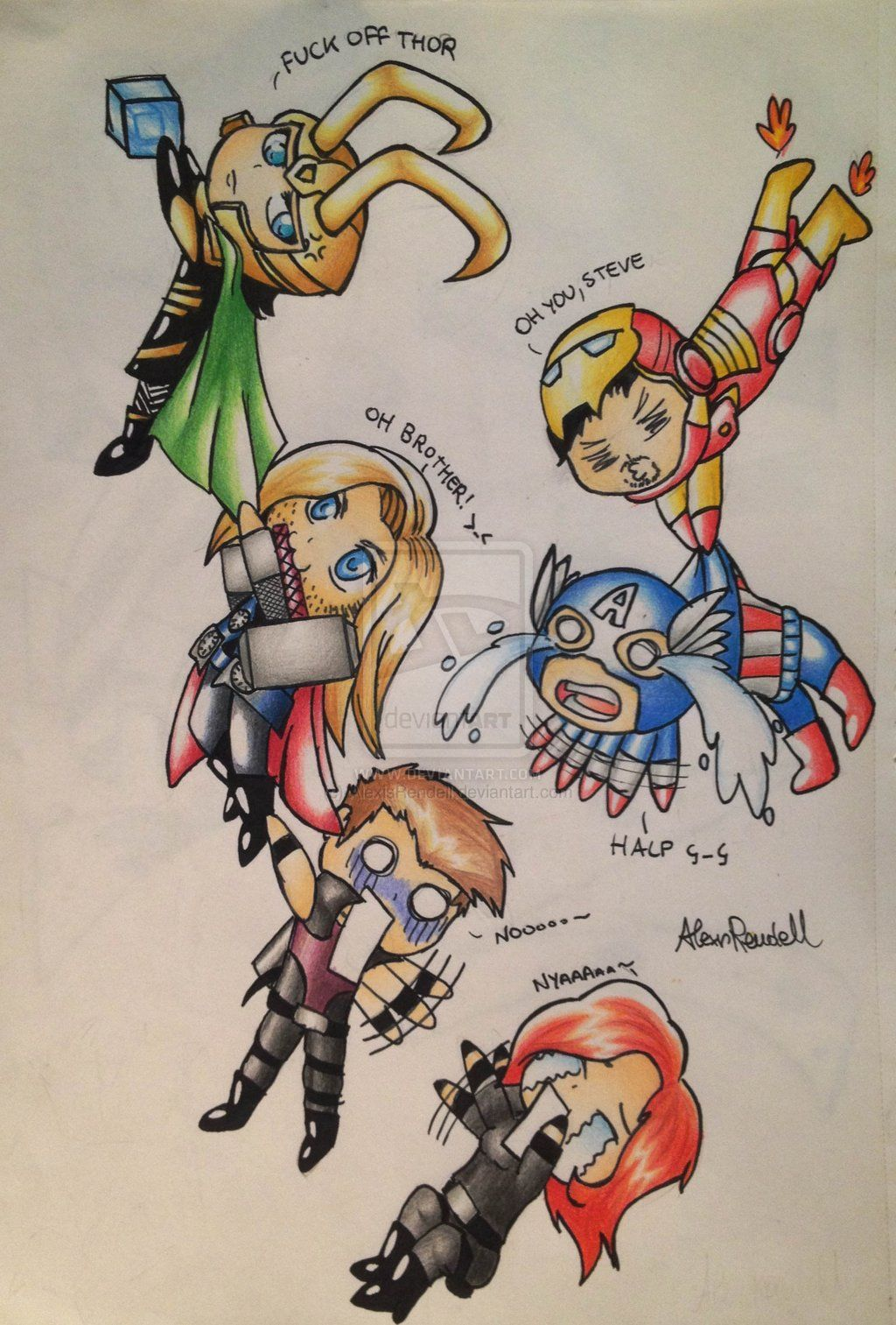 avengers chibis Google Search Chibis Pinterest