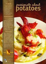 Lobster Mashed Idaho® Potatoes #MastrosSteakhouse