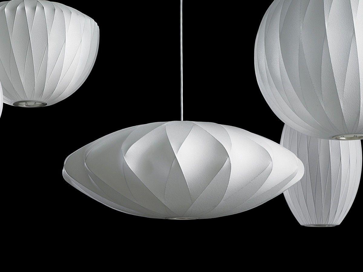 Nelson Bubble Lamp Criss Cross Saucer Pendant Light