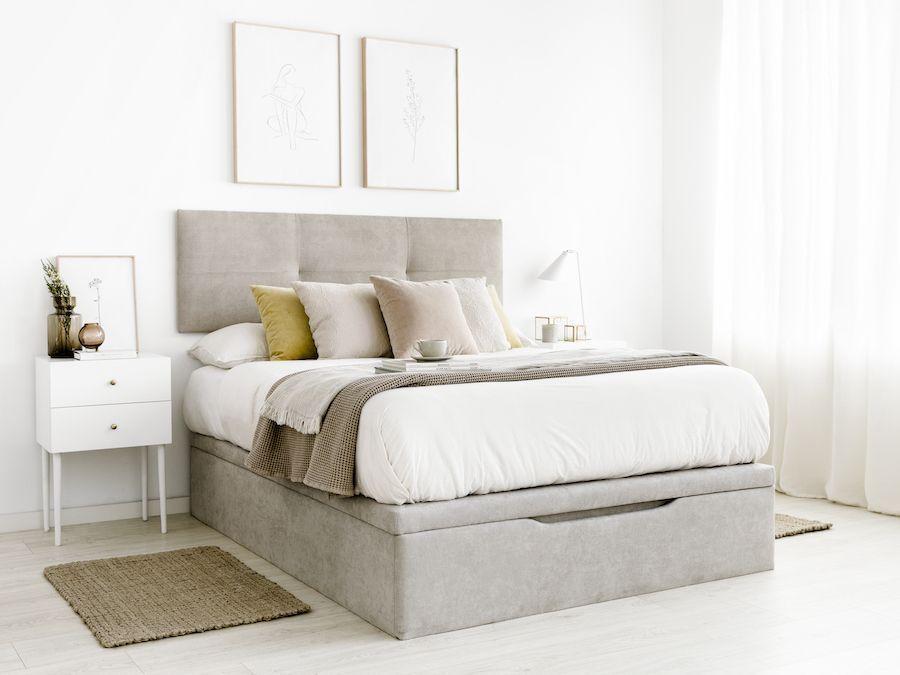 Pack Cabecero Y Canapé Consigue Tu Dormitorio A Mejor Precio Comprando El Pack Este Pack Incluye El Ca Canape Abatible Muebles De Dormitorio Modernos Camas