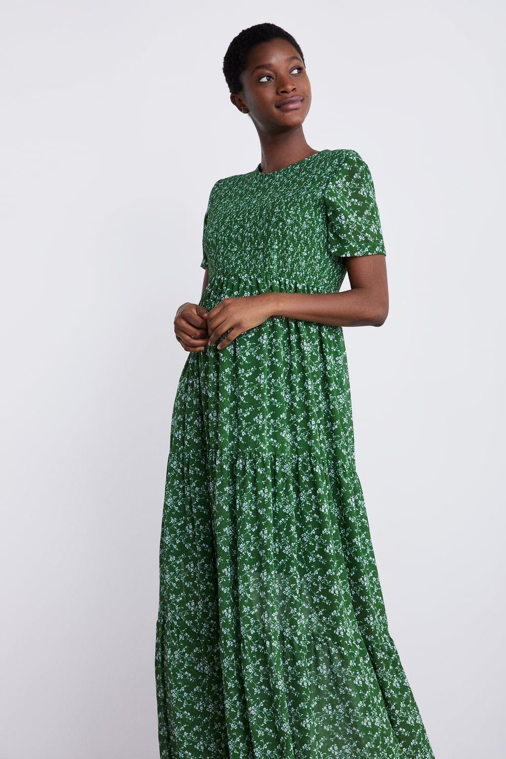 Sukienka Z Nadrukiem W Kwiaty Mum Kobieta Corner Shops Zara Polska Dresses Mini Dress Print Dress