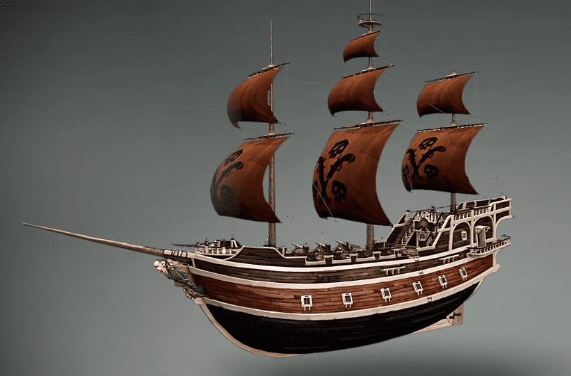 Take To The Hopefully More Than Seven Seas In Your Own Customizable Pirate Ship Sea Of Thieves Sea Pirates Sea