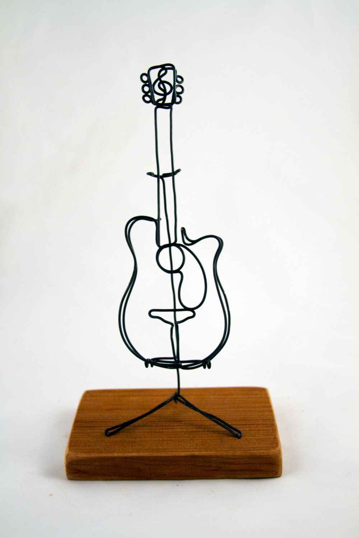 Acoustic Guitar. 80.00, via Etsy.