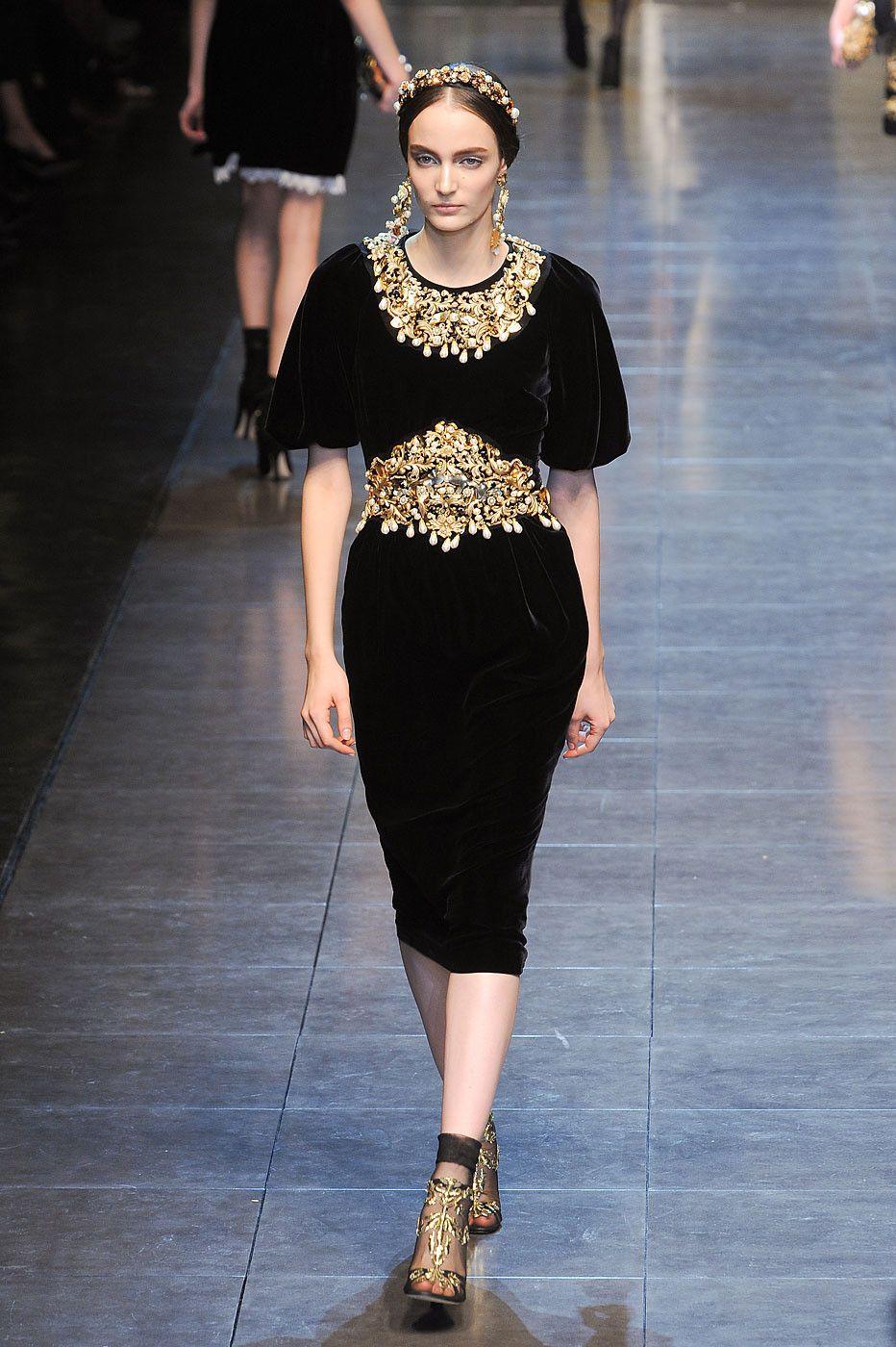 a1ba7ea24e5c Dolce & Gabbana at Milan Fashion Week Fall 2012 i 2019 | new