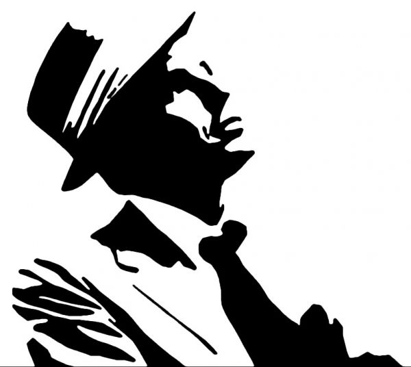 Picture Of Frank Sinatra Frank Sinatra Art Sillouette Art Frank Sinatra