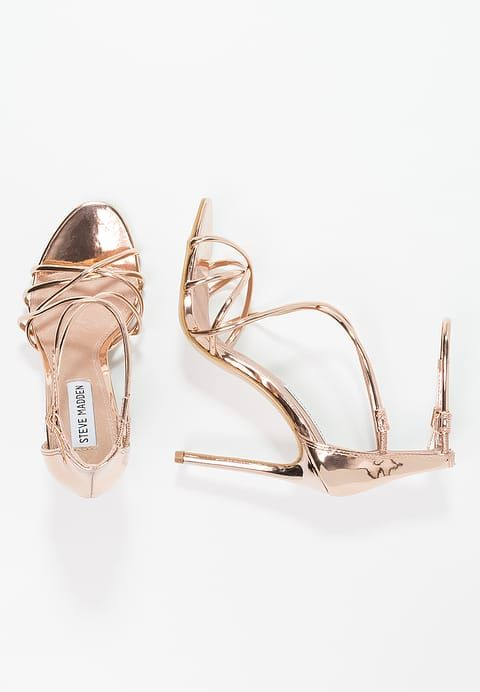 Steve Madden SATIRE - Sandali con i tacchi - rose gold - Zalando.it