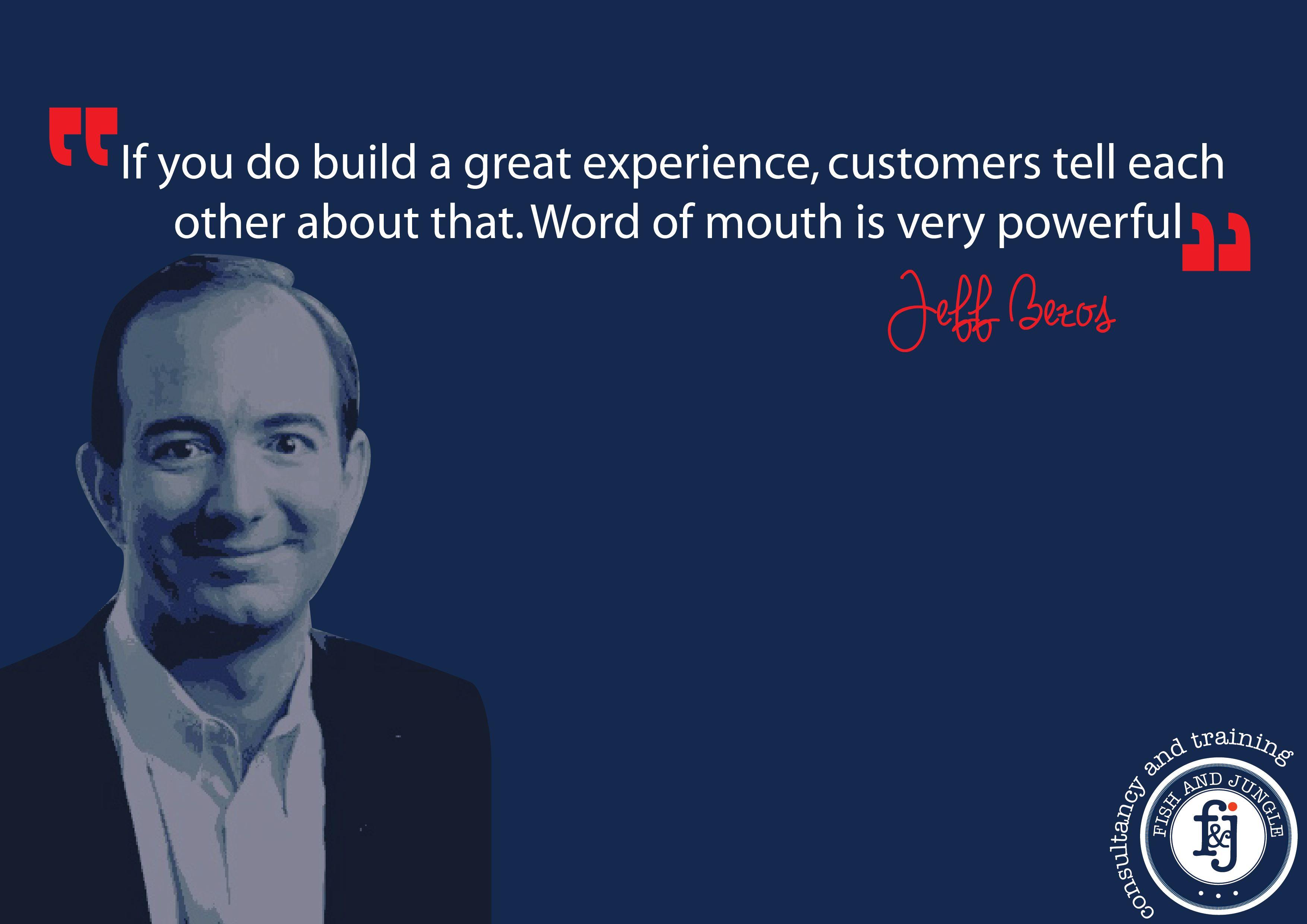 customer experience quotes jeff bezos