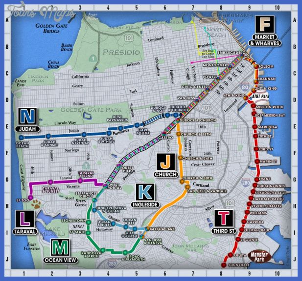 Awesome San FranciscoOakland Metro Map Tours Maps Pinterest - San francisco rail map