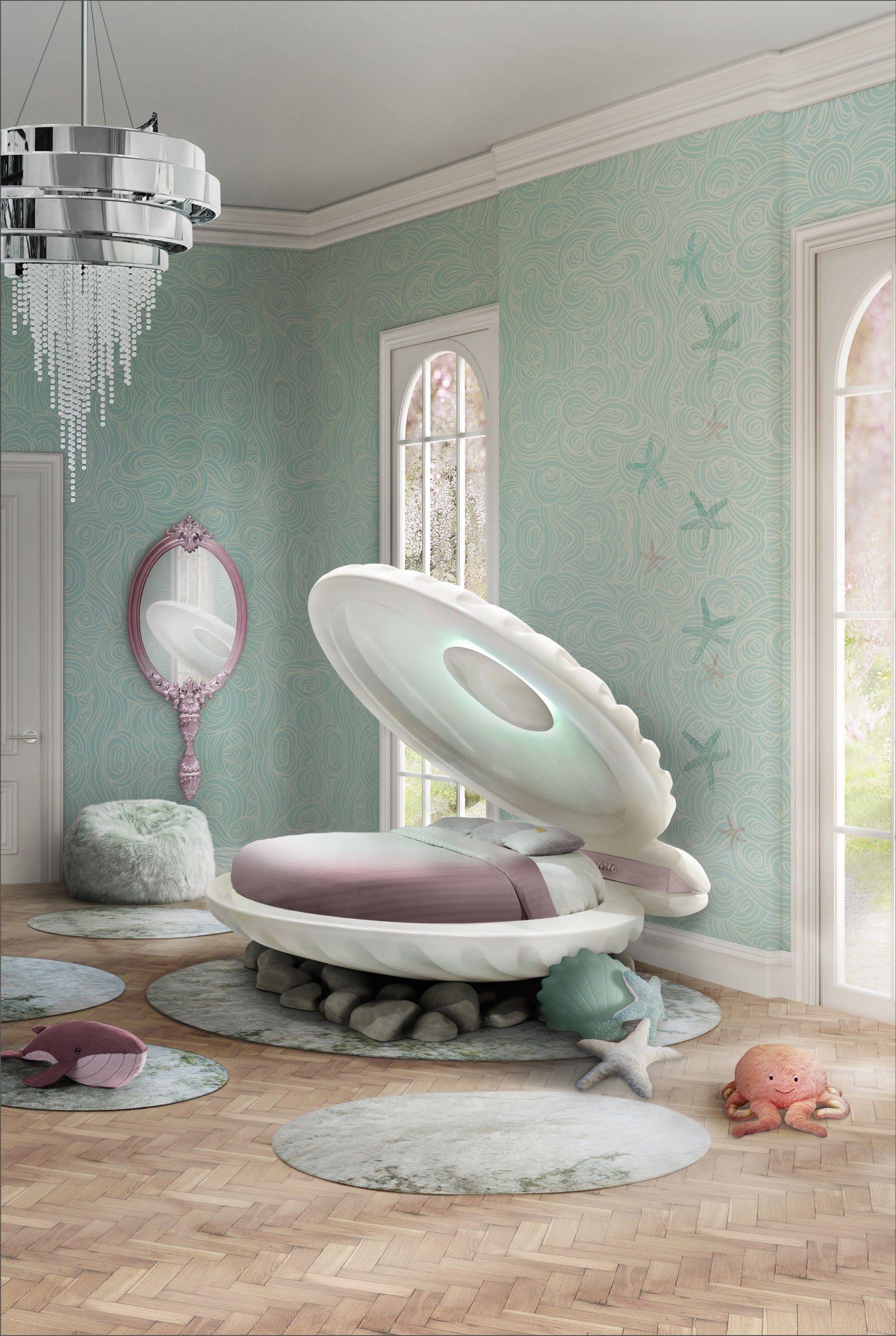 Pin By Little Blue Nest On топ интерьеры и решения Childrens Bedroom Furniture Mermaid Decor Bedroom Little Mermaid Bedroom