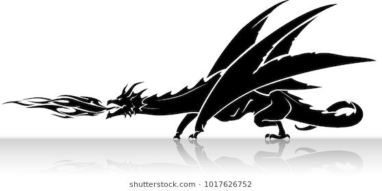 Dragon Fire Breath In 2020 Logo Dragon Dragon Fire Dragon