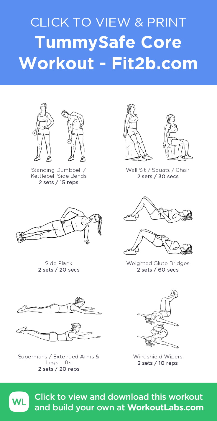 TummySafe Core Workout click to view and