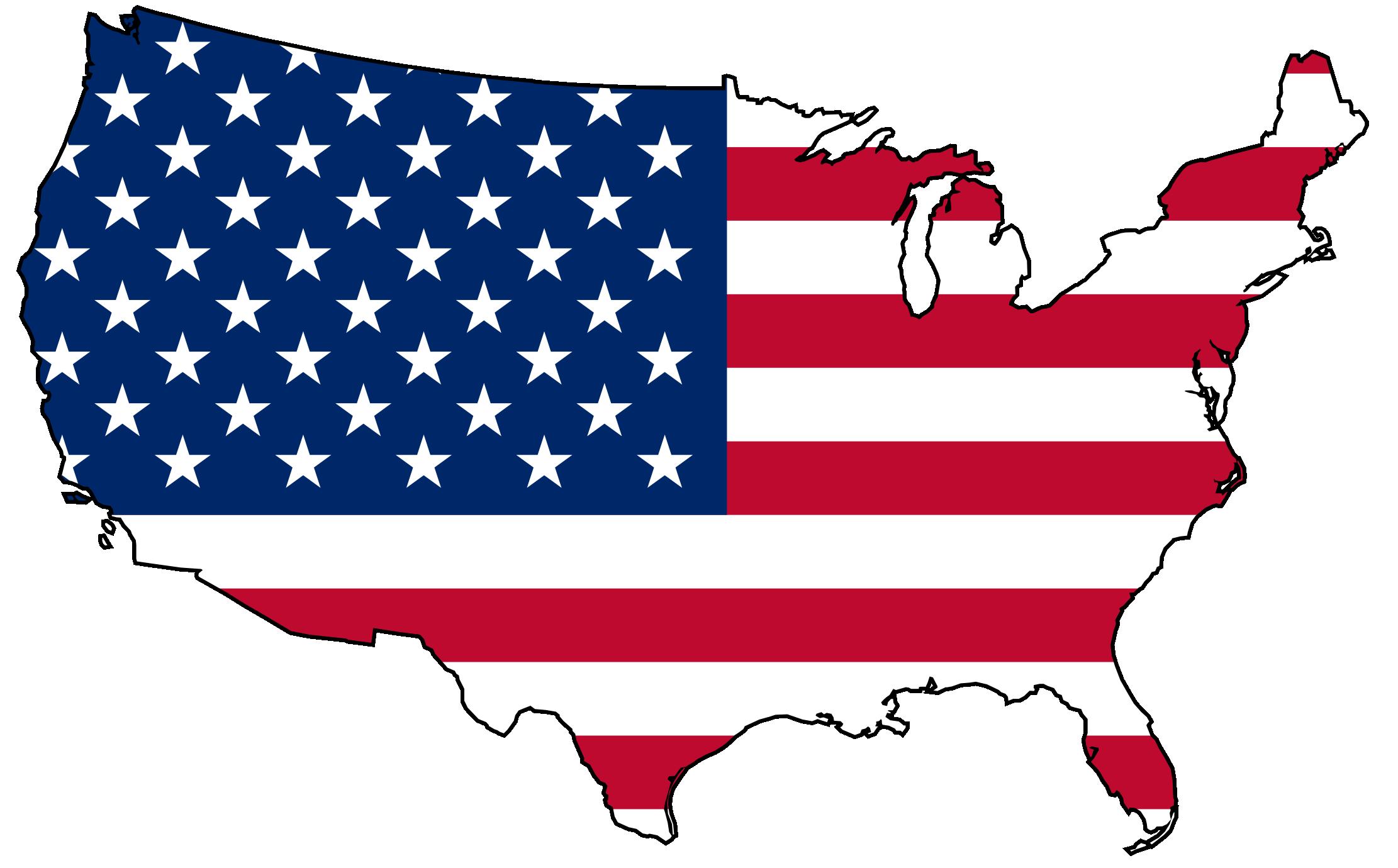 Usa Map Art