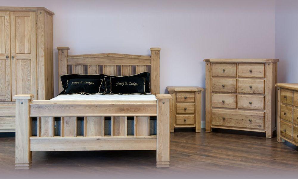 Dunfermline Oak Bedroom Furniture Chunky Oak Furniture