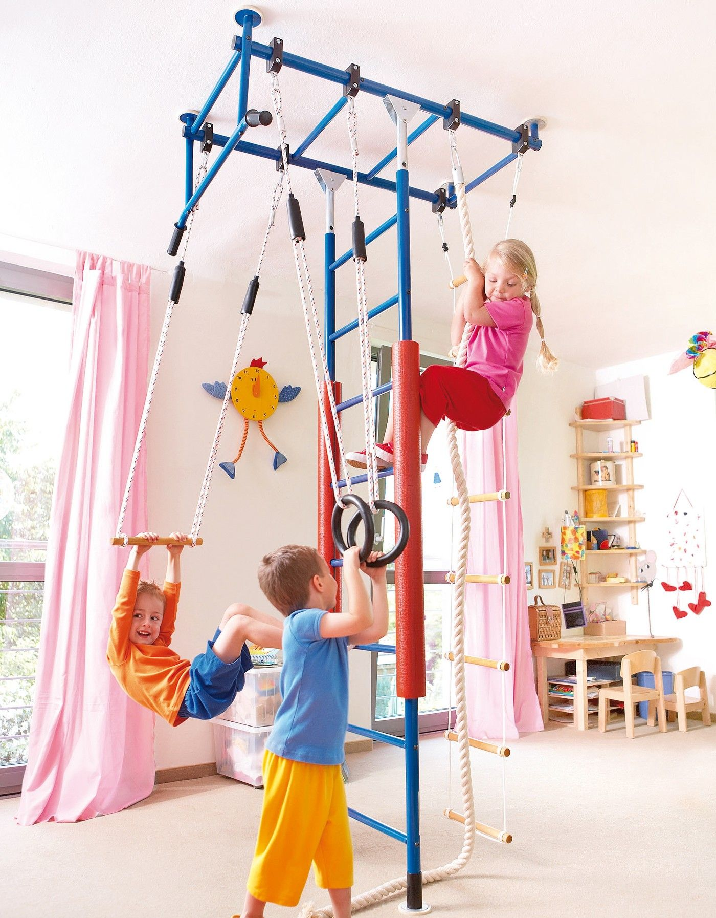 Kletter dschungel 2 05 2 40 m room ideas para and for Baby jungle gym indoor