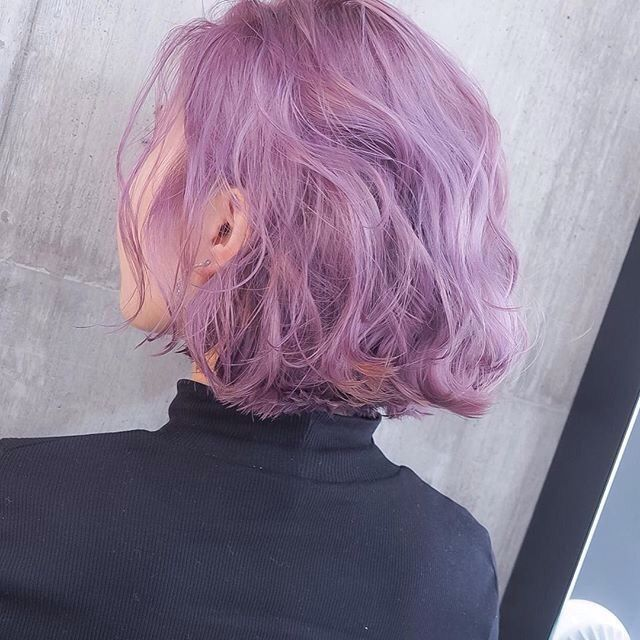 Pin By Arcade Rabbit On Ref Looks Purple Hair Hair Styles Dyed Hair