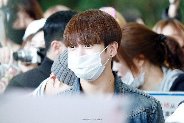 "BTS National on Twitter: ""[HQ] 160423 Jungkook @ Gimpo Airport  