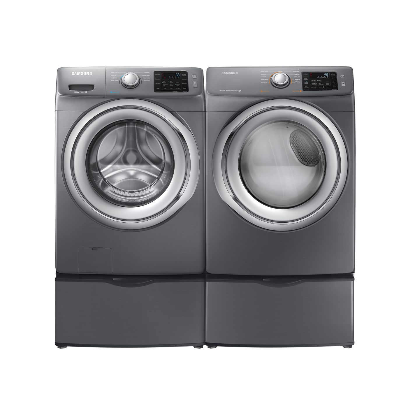 Shop Samsung High Efficiency Front Load Washer U0026 Electric Dryer Set At  Loweu0027s Canada. Find Our Selection Of Laundry Pairs At The Lowest Price  Guaranteed ...