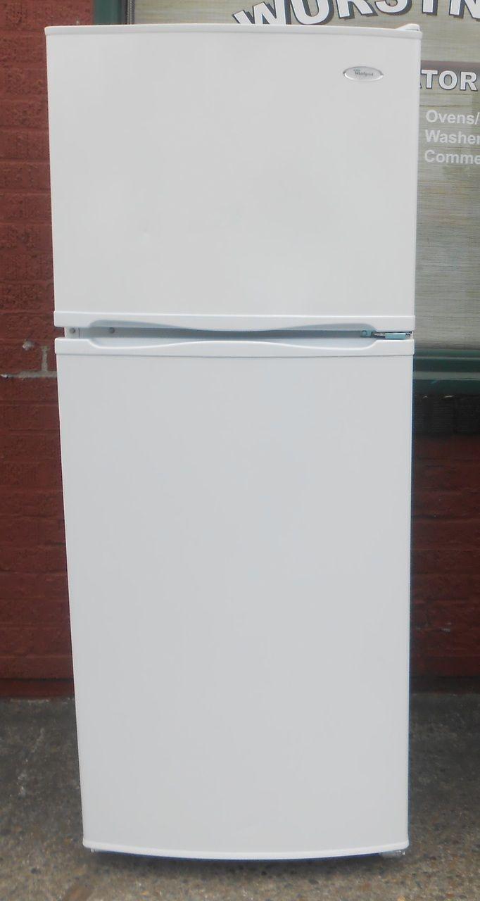 Whirlpool 10 Cubic Foot Refrigerator Top Freezer Refrigerator Freezer Appliance Store