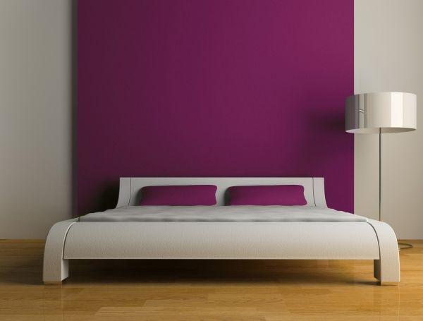 association couleurs chambre Deco dream Pinterest Purple bed - couleur de la chambre