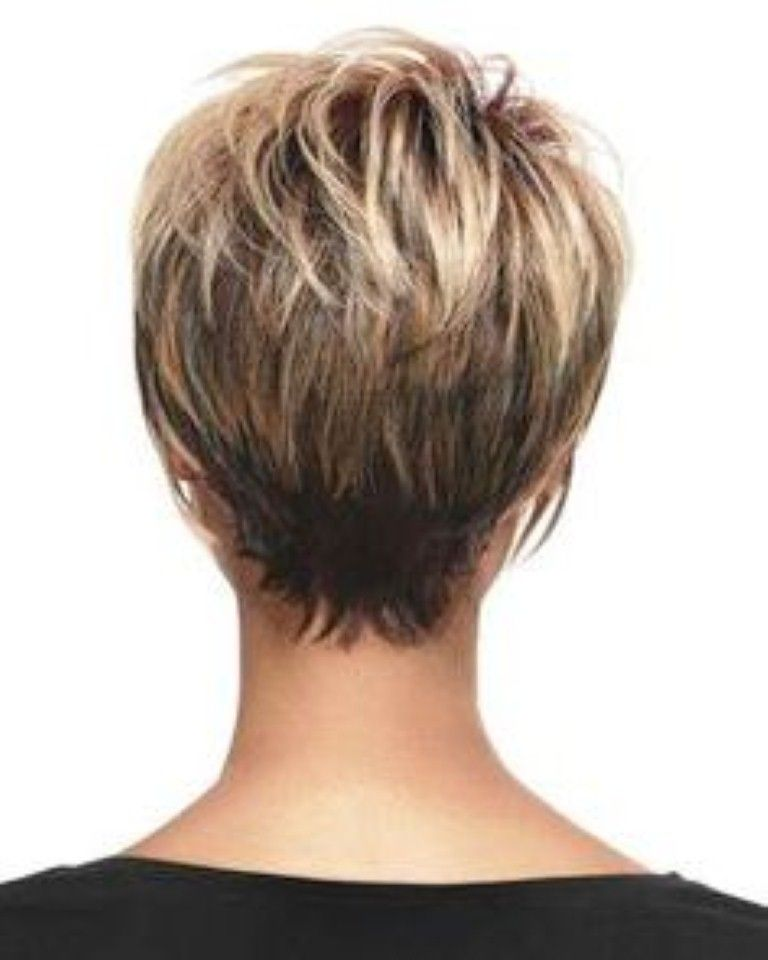 Short Stacked Hairstyles Back View Short Stacked Bob Hairstyles Hairstyles For Women Short Hair Back Short Hair Styles Hair Styles