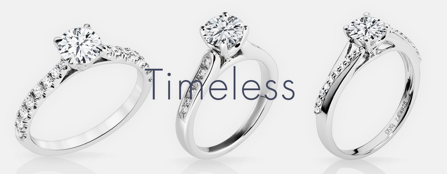 Timeless Clics From Naledi Engagement Rings Madison Wi Goodman S Jewelers