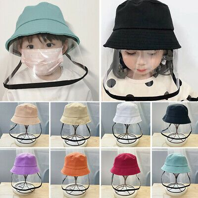 Find Many Great New Used Options And Get The Best Deals For Unisex Adulto Ninos Pescador Sombrero Tapa Protec In 2020 Mask For Kids Face Shield Masks Fisherman S Hat