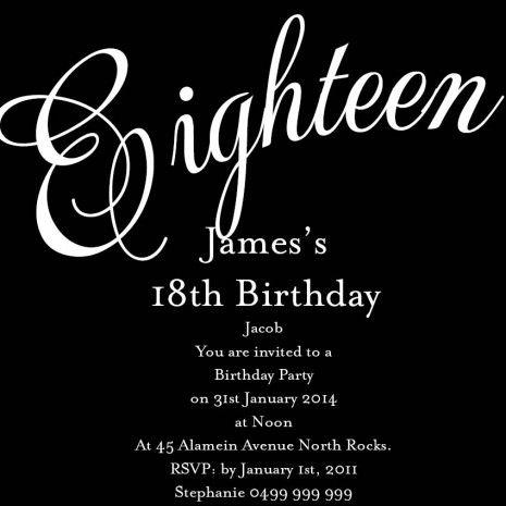 Jubilee Square W Magnet In Black Invitation