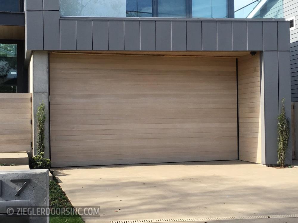 Modern Garage Doors By Ziegler Doors Inc In 2020 Contemporary Garage Doors Modern Garage Doors Garage Door Design