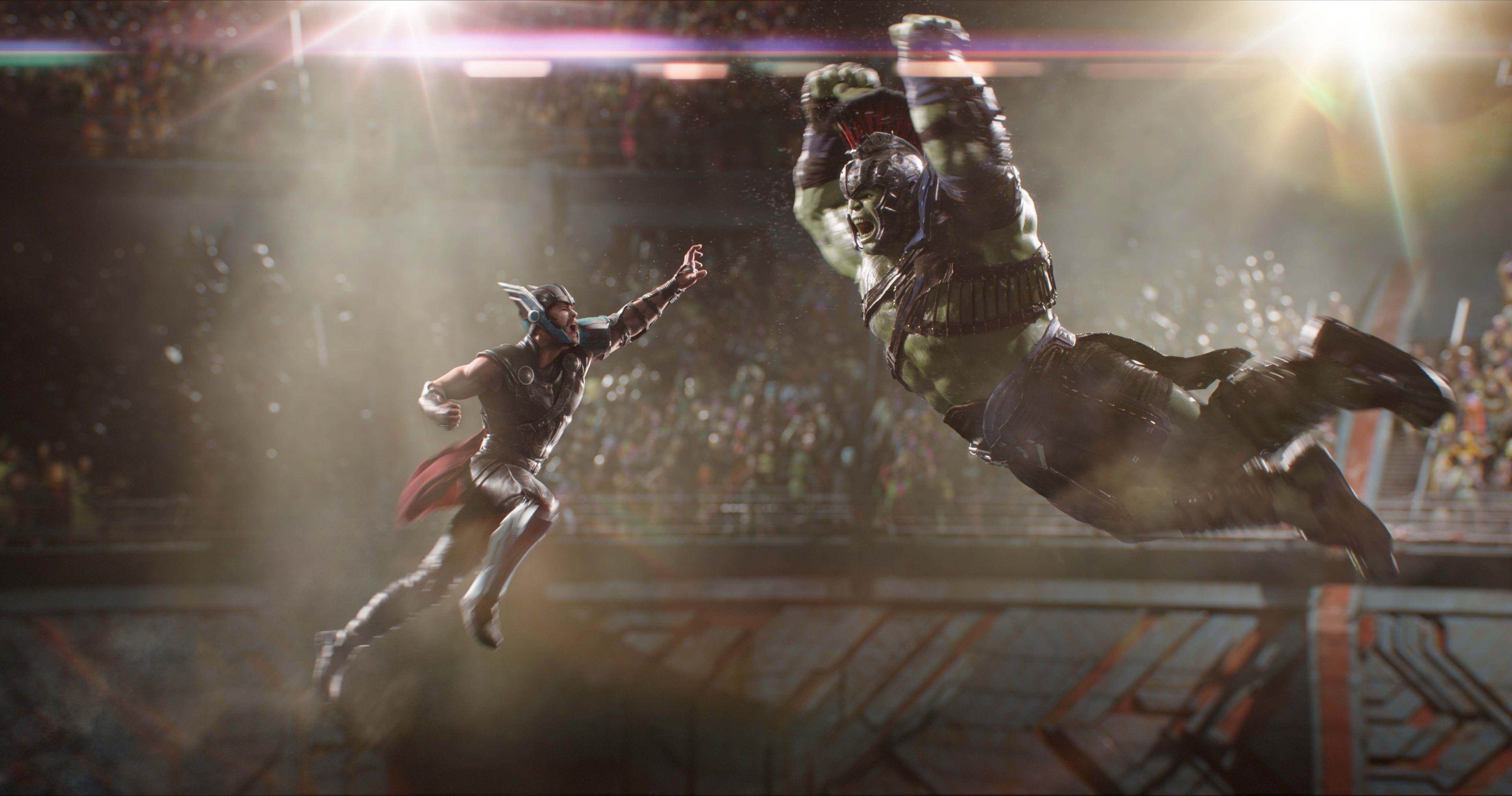 3840x2021 Thor Ragnarok 4k Hd Wallpaper For Pc Download Chris Hemsworth Mark Ruffalo Thor