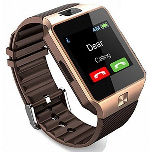 Smart Watch Cell Phone iPhone Android Smartphones Camera Bluetooth New #SmartWatchCellPhone