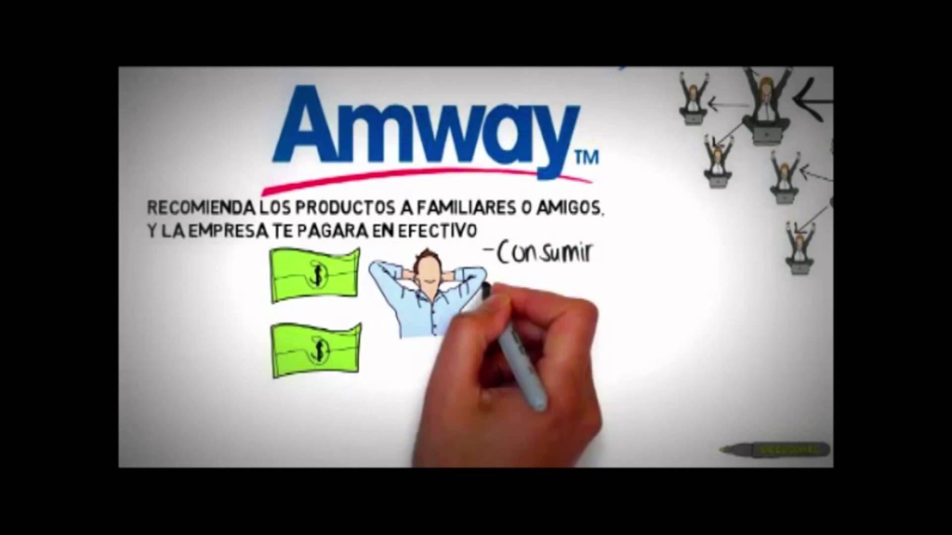 plan de negocios amway 5 minutos si le gusto la idea de tener su