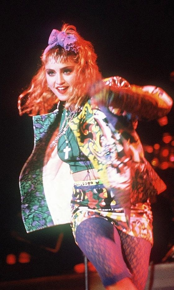 We Madonna Madonna Like A Virgin At The 1984 Mtv Video Music