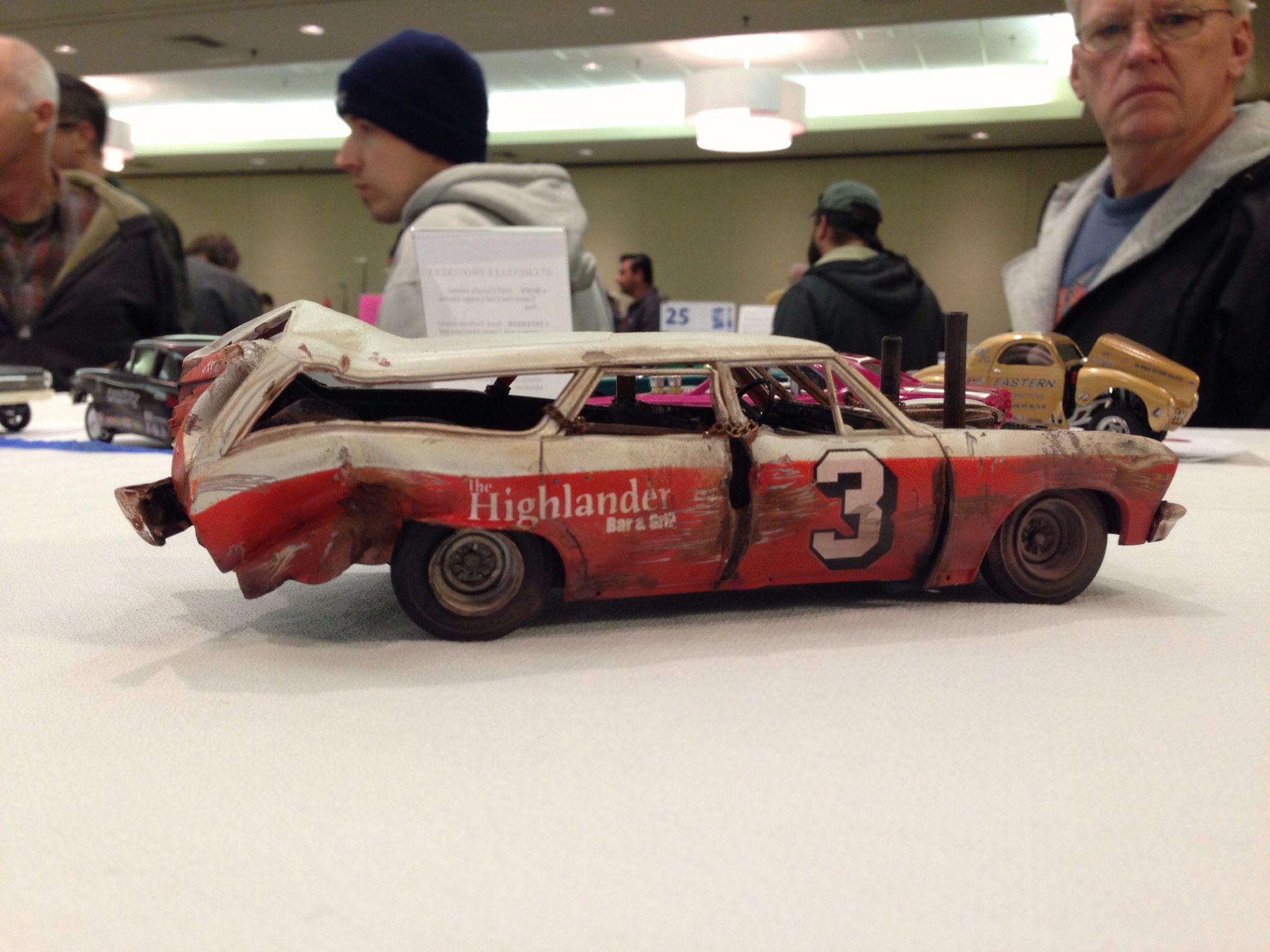Building Demolition Derby Car : Demolition derby plastic model cars pinterest
