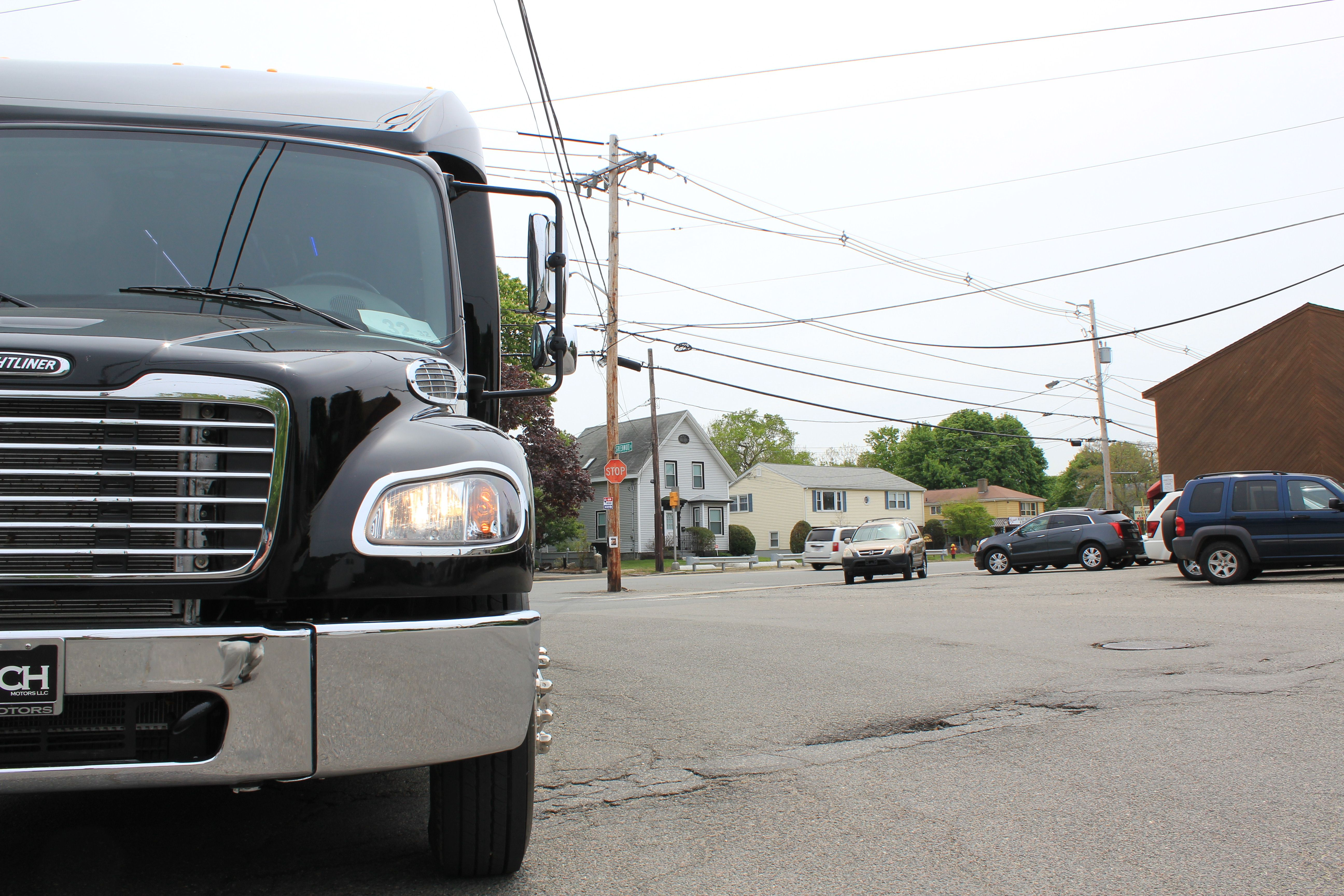 Grech Freightliner Born On The Mean Streets Freightliner Trucks Vehicles