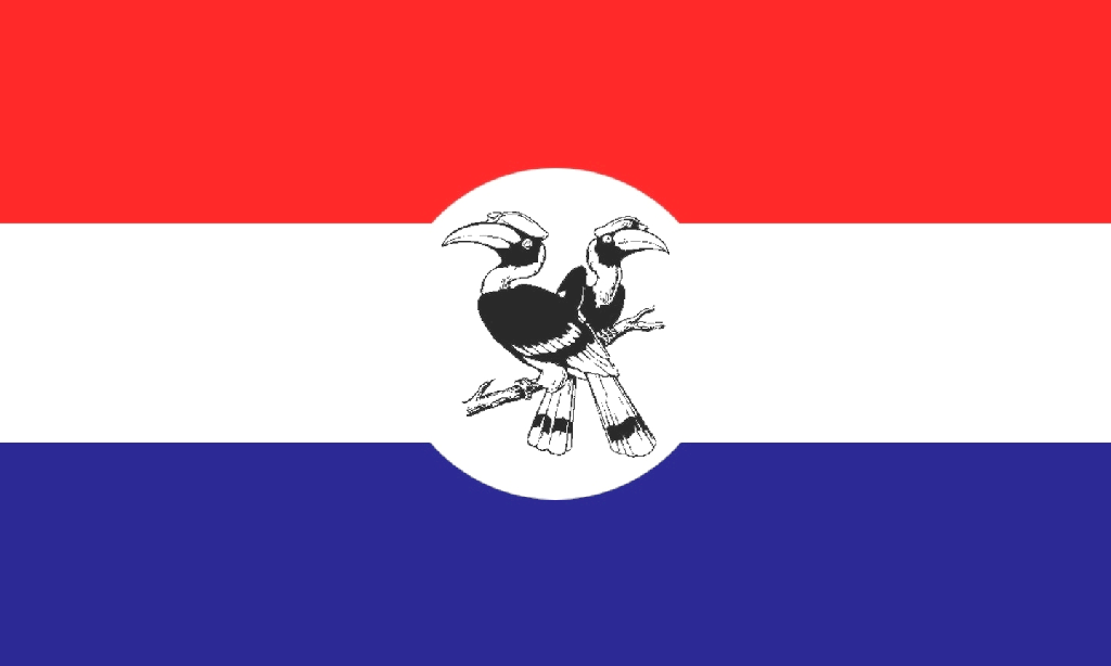 Chin State Flag From Burma Chin State Art Poster