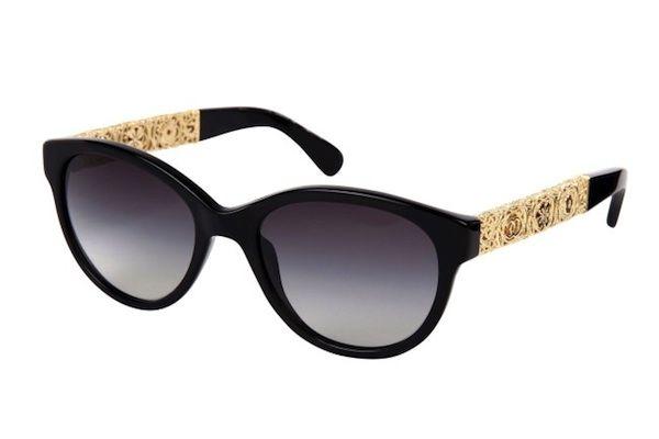 Chanel-Baroque Sunglasses-2012-05   Specs... in 2019 ...Chanel Sunglasses 2013 Women