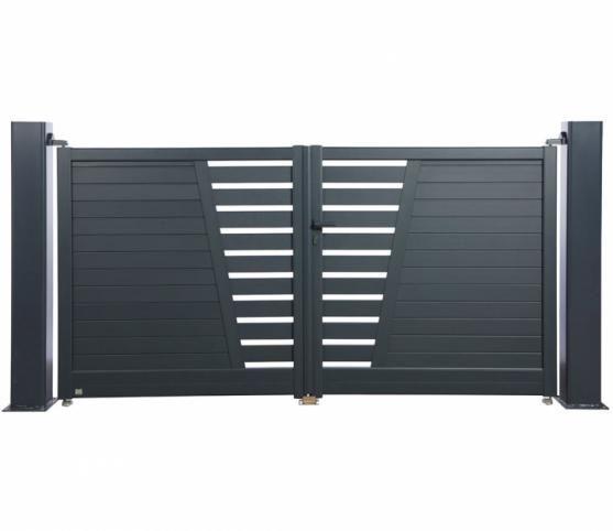 Portail Battant Aluminium Sahara Iron Gates Outdoor Storage