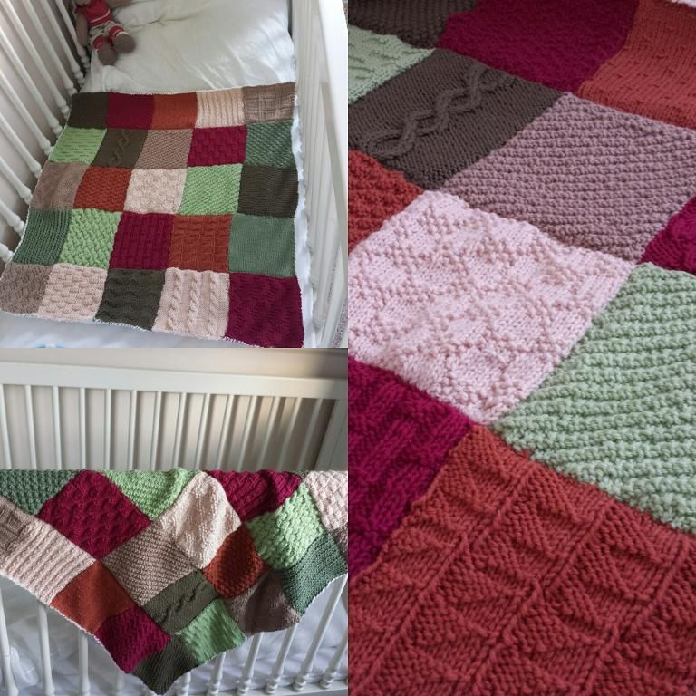Looking for your next project? You're going to love Patchwork Baby ... : patchwork quilt knitting pattern - Adamdwight.com