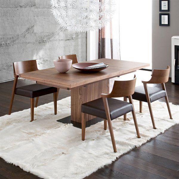 Tân Trang Phòng Ăn Với Những Mẫu Ghế Ăn Hiện Đại Dưới Đây  Chuyên Classy Walnut Dining Room Sets 2018