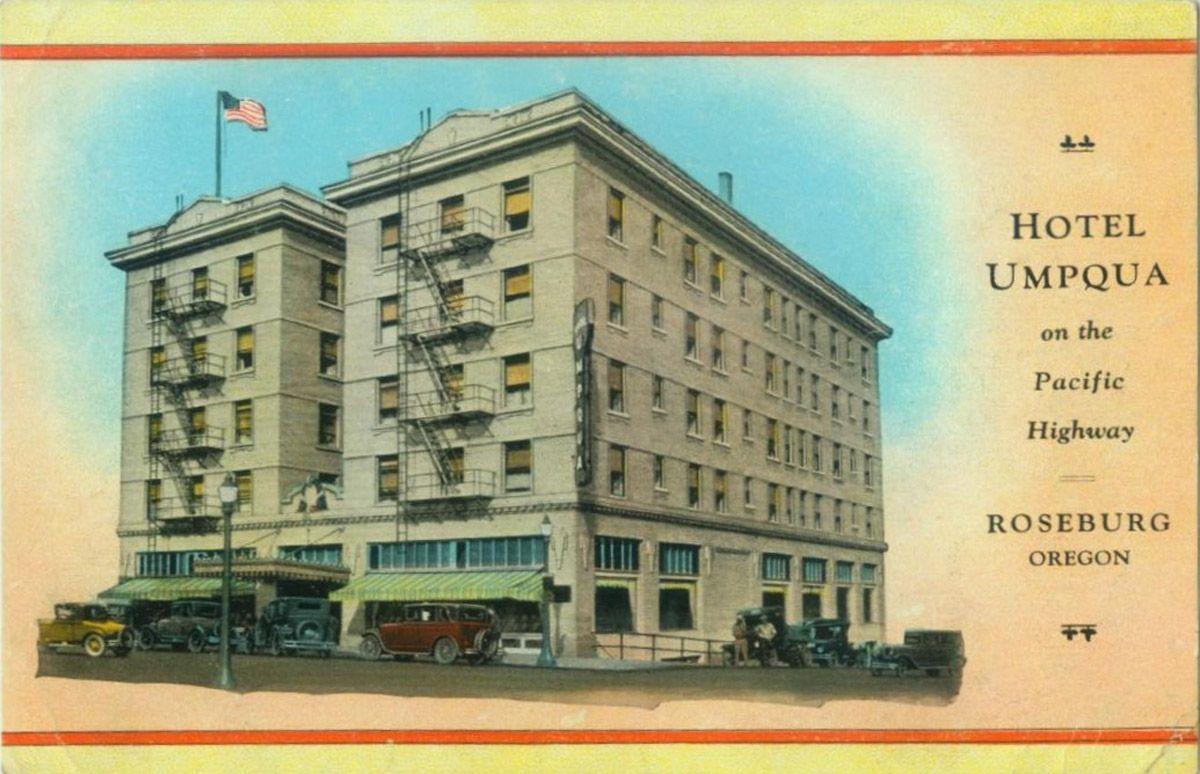 Hotel Umpqua Roseburg Oregon