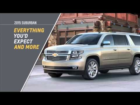 2015 Chevrolet Suburban Tahoe Versatile Suvs Inside And Out