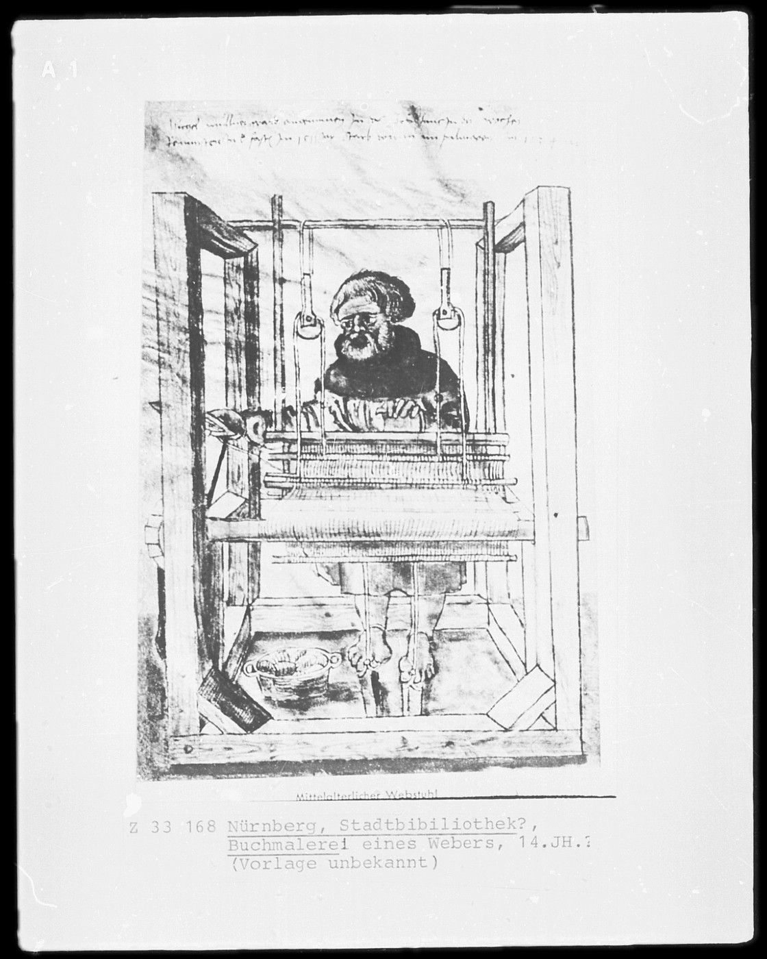 Treadle Floor Loom - Mogh Roith Living History Group | Chalice